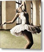 Halcyon Ballerina Metal Print by Richard Young