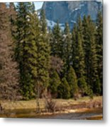 Half Dome Yosemite Metal Print by Tom Dowd