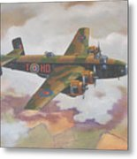 Handley Page Halifax Metal Print by Murray McLeod
