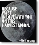 Harvest Moon Metal Print by Cindy Greenbean