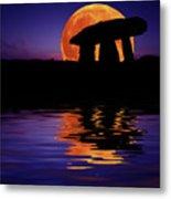 Harvest Moon Metal Print by Mark Stokes