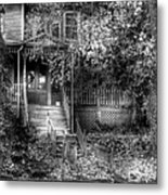 Haunted - Abandoned Metal Print by Mike Savad