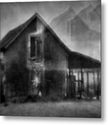 Haunted House Metal Print by Mimulux patricia no