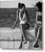 Havana Beauties Metal Print by Peter Verdnik
