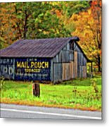 Have A Chaw Painted Metal Print by Steve Harrington