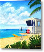 Hawaii North Shore Banzai Pipeline Metal Print by Jerome Stumphauzer