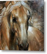 Head Horse 2 Metal Print by Arthur Braginsky