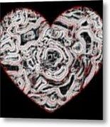 Heartline 1 Metal Print by Will Borden