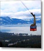 Heavenly Tram South Lake Tahoe Metal Print by Brad Scott