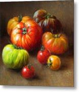 Heirloom Tomatoes Metal Print by Robert Papp