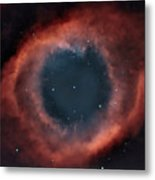 Helix Nebula Metal Print by Charles Warren