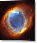 Helix Nebula Metal Print by Ricky Barnard