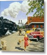 Here At Last Metal Print by Michael Swanson