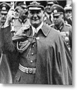 Hermann Goering 1893-1946, Holding Metal Print by Everett