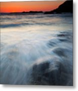 Hidden Beneath The Tides Metal Print by Mike  Dawson