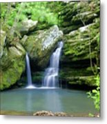 Hidden Falls 2 Metal Print by Marty Koch