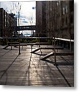 High Line Park Metal Print by Eddy Joaquim