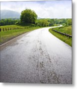 Highland Scenic Highway Route 150 Metal Print by Thomas R Fletcher