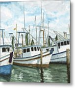 Hillman's Boats Metal Print by Don Bosley