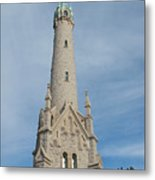 Historic Milwaukee Water Tower Metal Print by Ann Horn