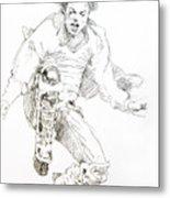 History Concert - Michael Jackson Metal Print by David Lloyd Glover