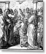 Holy Spirit Visiting Metal Print by Granger