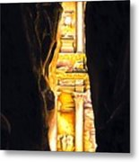 Homage To Petra Metal Print by Richard Young