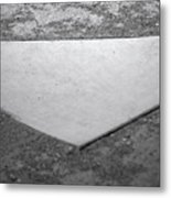 Home Plate Metal Print by Shawn Wood