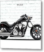 Honda Fury Metal Print by Mark Rogan