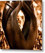 Hornbills Metal Print by Venetta Archer