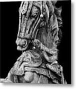 Horse  Metal Print by Charuhas Images