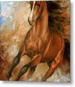 Horse1 Metal Print by Arthur Braginsky
