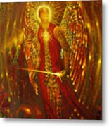 Host Of Holies With One Swing Concludes Metal Print by Stephen Lucas