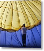 Hot Air Balloon - 11 Metal Print by Randy Muir