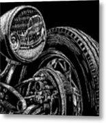Hot Rod Bob Metal Print by Bomonster