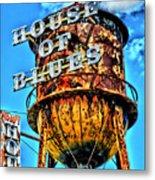 House Of Blues Orlando Metal Print by Corky Willis Atlanta Photography