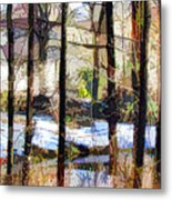 House Surrounded By Trees 2 Metal Print by Lanjee Chee