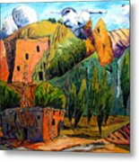 Hovenweep The Penthouse  Metal Print by Charlie Spear