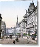 Hungary: Budapest, C1895 Metal Print by Granger
