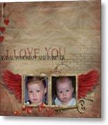 I Love You Metal Print by Joanne Kocwin
