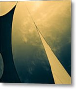 Icarus Journey To The Sun Metal Print by Bob Orsillo
