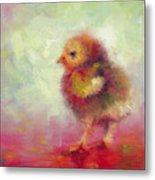 Impressionist Chick Metal Print by Talya Johnson