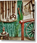 In Another Time Metal Print by Sandra Bronstein