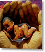 In Good Hands Metal Print by Michael Durst