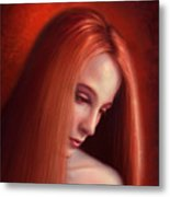 In Mourning Metal Print by Philip Straub