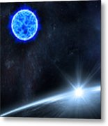 in Space Metal Print by Svetlana Sewell