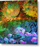In The Beginning Metal Print by Mimulux patricia no