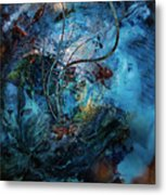 In The Deep Six Metal Print by Patricia Motley
