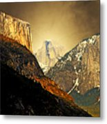 In The Presence Of God Metal Print by Wingsdomain Art and Photography