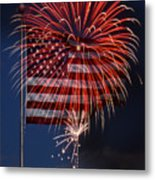 Independence Day Metal Print by Skip Willits